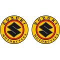 """Suzuki Motorcycle Decal/Vinyl Sticker 3"""" wide 3"""" high!"""