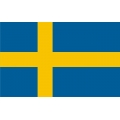 "Sweden Flag Decal/Vinyl Sticker 8"" wide!"