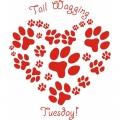 Tail Waggin! Sticker/Decals!