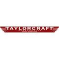 Taylorcraft Aircraft Decal/Logo 18''w x 2.5''h!