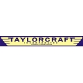 Taylorcraft Aircraft Decal/Sticker 2.5''h x 18''w!
