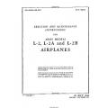 Taylorcraft L-2 , L-2A and L-2B Erection and Maintenance Instruction  1944