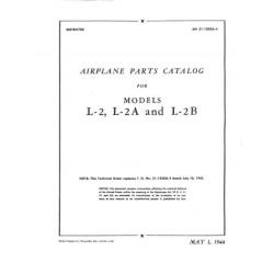 Taylorcraft   L-2, L-2A AND L-2B Airplane Parts Catalog 1944