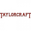 Taylorcraft Aircraft Decal,Sticker 2''high x 11 1/2''wide!