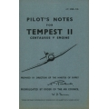 Hawker Tempest II Pilots Notes 1946 $ 4.95