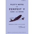 Tempest V Pilot's Notes Sabre IIA Engine $ 4.95