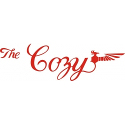 The Cozy Aircraft Decal/Sticker  4''high x 13 1/4''wide!