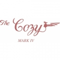The Cozy Mark IV Aircraft Decal/Sticker 5 3/4''high x 13 1/4''wide!