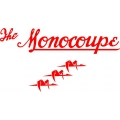 "Monocoupe Aircraft Logo,Decal/Sticker  14""w x  7.5""h!"