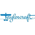 Taylorcraft Aircraft Decal,Sticker/Vinyl Graphics 10''wide x 2.75''high!