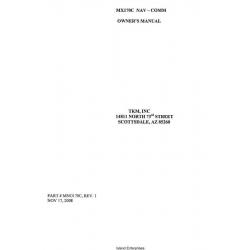 TKM MX170C NAV/COMM Owner's Manual $6.95