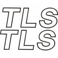 Mooney TLS Aircraft Decal/Sticker 1 1/2''high x 4 1/4''wide!