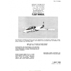 Cessna T-37B Series  Flight Manual/POH 1982-1984 $9.95