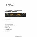 TRIG TT31 Mode S Transponder Operating Manual 2009