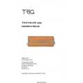 Trig TY91/TY92 VHF radio Installation Manual 00839-00-AF