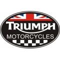 Triumph Motorcycle Logo,Decals!