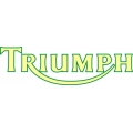 Triumph Motorcycle Decal/Sticker 3''h x 10.5''w!