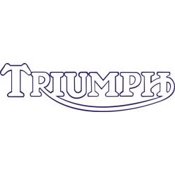 Triumph Motorcycle Decal/Sticker 3''h x 10.5''w!