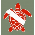 Turtle Scuba Diving Symbol,Vinyl/Decals!