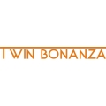Twin Bonanza Aircraft Decal/Sticker 1 1/2''h x 11 3/4''w!