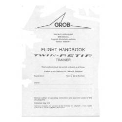 Grob Flight Handbook Twin - Astir  2.95