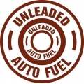 Unleaded Auto Fuel Aircraft Fuel Placards!