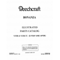 Beechcraft Bonanza V35 & V35B-TC (D-906 AND AFTER) Illustrated Parts Catalog 35-5901025E4 $19.95