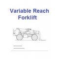 Variable Reach Forklift