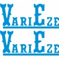 Varieze Aircraft Decal,Sticker 3''high x 7''wide!