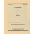 Vought F4U-4 Pilot's Handbook 1947-1952 $6.95