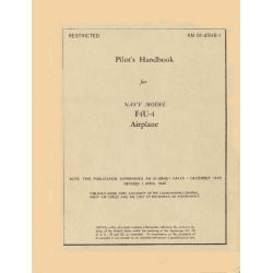 Vought F4U-4 Pilot's Handbook 1947-1952