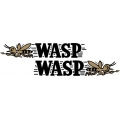 "Wasp Logo Aircraft Decal/Vinyl Sticker 12"" wide!"