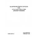 Continental Parts Catalog X30011A C75, C85, C90 & O-200 $13.95