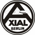 Xial Berlin Aircraft Decal,Sticker 5''diameter!