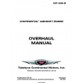 Continental IOF-240-B Overhaul Manual OH-22