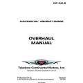 Continental IOF-240-B Overhaul Manual OH-22 $19.95