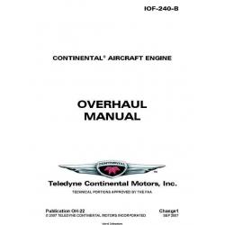 Continental IOF-240-B Overhaul Manual OH-22